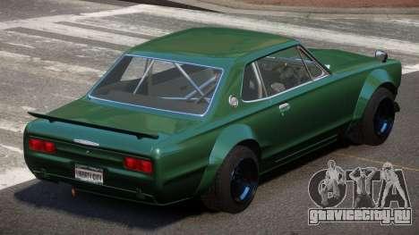 Nissan Skyline GT Qz для GTA 4
