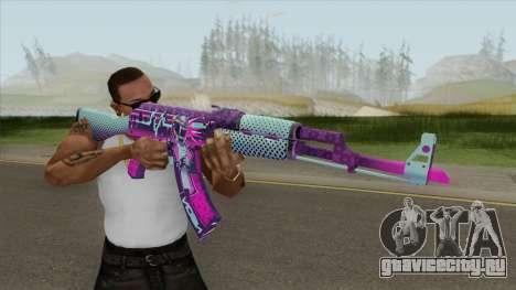 AK-47 Neon Rider (CS:GO) для GTA San Andreas