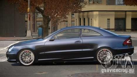 Mercedes Benz CLK 55 V2.1 для GTA 4
