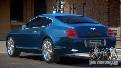 Bentley Continental GT S-Tuned для GTA 4