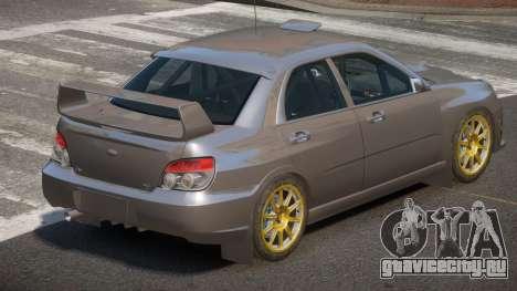Subaru Impreza SR для GTA 4
