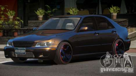 Lexus IS300 V1.2 для GTA 4