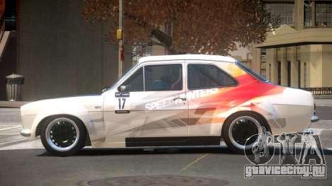 Ford Escort GT PJ2 для GTA 4