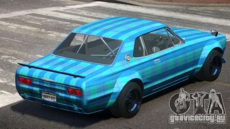 Nissan Skyline GT Qz PJ5 для GTA 4
