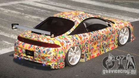 Mitsubishi Eclipse SR PJ5 для GTA 4