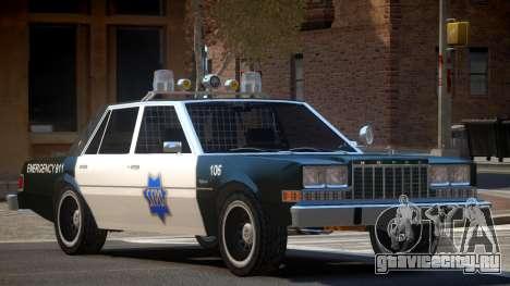 Dodge Diplomat Police V1.5 для GTA 4