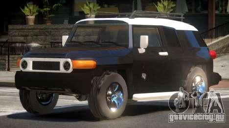 Toyota FJ V1.1 для GTA 4