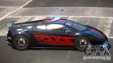 Lamborghini Gallardo SR Police для GTA 4