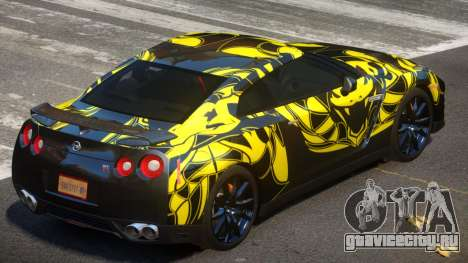 Nissan GT-R Qz PJ1 для GTA 4