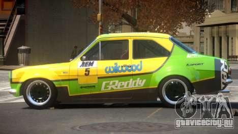 Ford Escort GT PJ4 для GTA 4