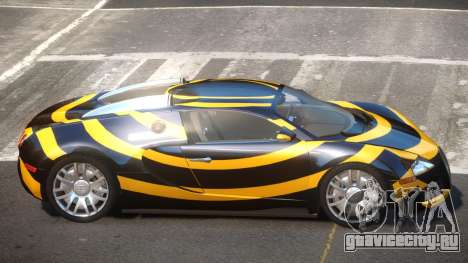 Bugatti Veyron DTI PJ3 для GTA 4