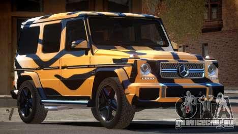 Mercedes Benz G65 E-Style PJ5 для GTA 4