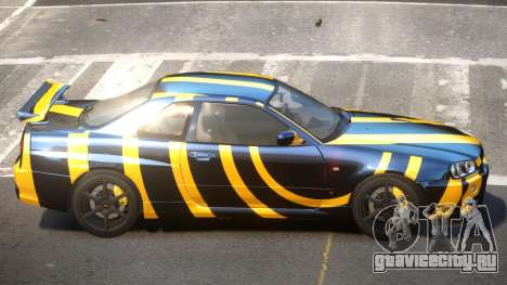 Nissan Skyline R34 L-Tuned PJ6 для GTA 4
