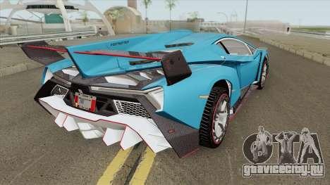 Lamborghini Veneno 2020 для GTA San Andreas