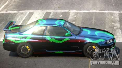 Nissan Skyline R34 L-Tuned PJ5 для GTA 4