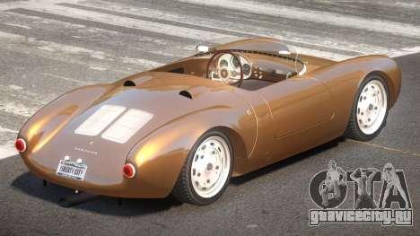 Porsche 550 Old для GTA 4