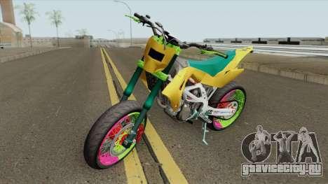 Aprilia MXV 450 для GTA San Andreas