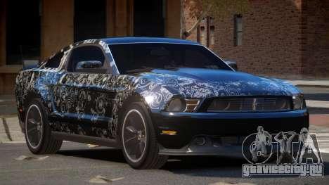 Ford Mustang 302 V1.1 PJ6 для GTA 4