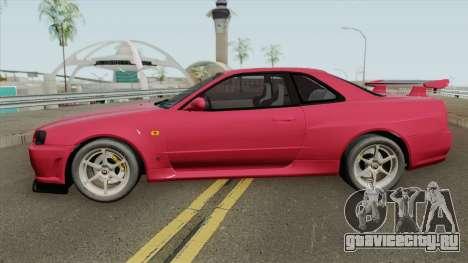 Nissan Skyline R34 GT-R для GTA San Andreas
