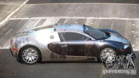Bugatti Veyron DTI PJ4 для GTA 4