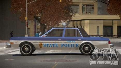 Dodge Diplomat Police V1.3 для GTA 4