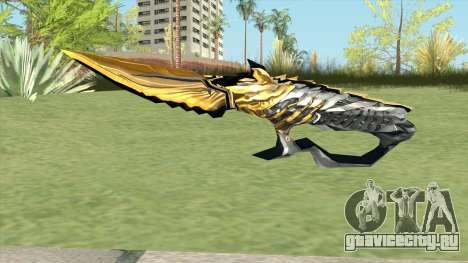 Knife (Born Beast Noble Gold) для GTA San Andreas