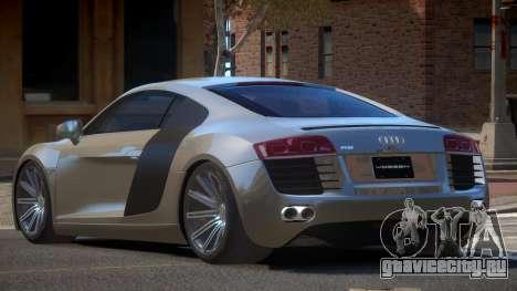 Audi R8 STI GT для GTA 4