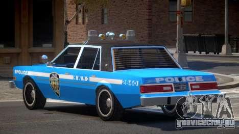 Dodge Diplomat Police V1.1 для GTA 4