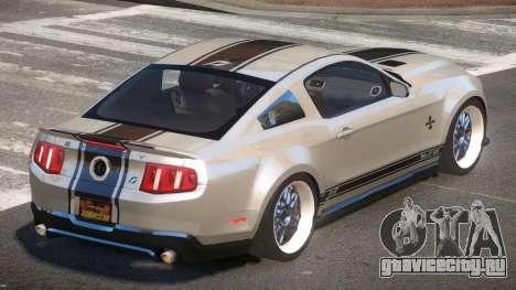 Shelby GT500 SR для GTA 4