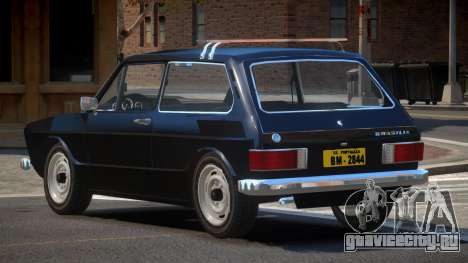 Volkswagen Brasilia LS для GTA 4