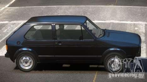 Volkswagen Golf MK1 RS для GTA 4