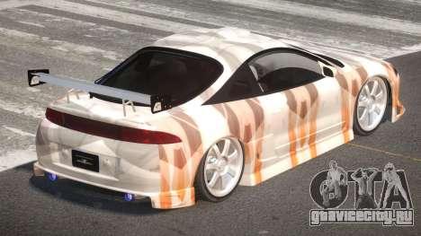 Mitsubishi Eclipse SR PJ6 для GTA 4