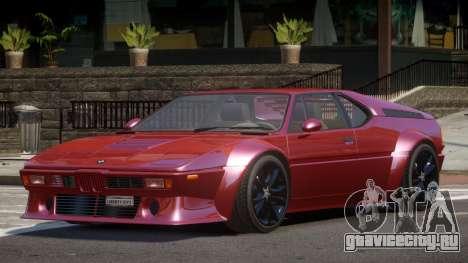 BMW M1 GT для GTA 4