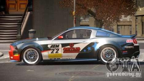 Shelby GT500 SR PJ5 для GTA 4