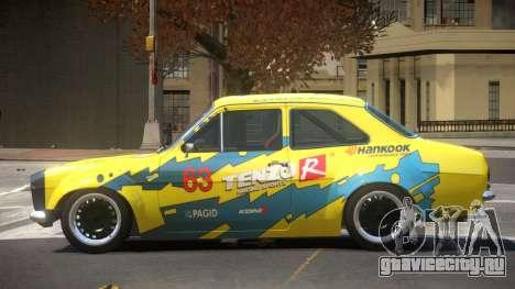 Ford Escort GT PJ1 для GTA 4