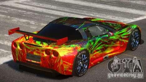 Chevrolet Corvette RS Tuning PJ2 для GTA 4
