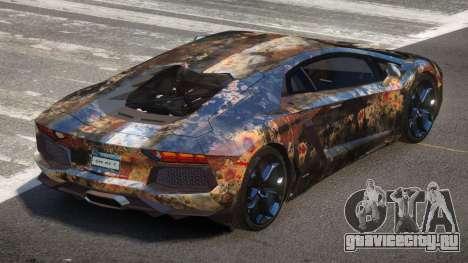 Lamborghini Aventador LP700 SR PJ6 для GTA 4