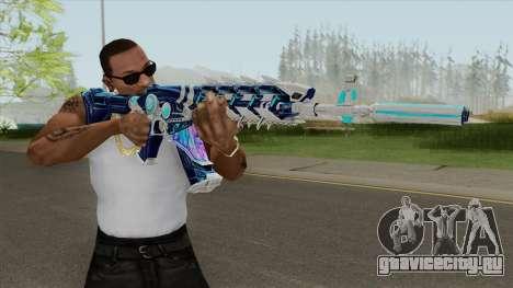 AK-47 (Broken Ice) для GTA San Andreas