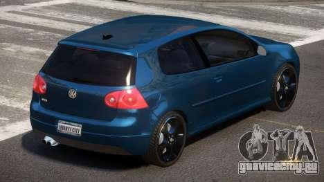Volkswagen Golf V LT для GTA 4