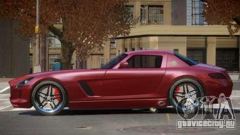 Mercedes-Benz SLS E-Style для GTA 4
