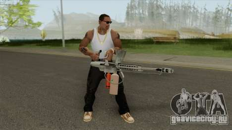 Flame Thrower (HD) для GTA San Andreas