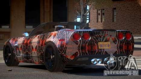 Chevrolet Corvette SR PJ2 для GTA 4