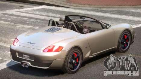 RUF RK Roadster V1.1 для GTA 4