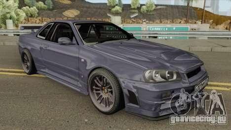 Nissan Skyline GT-R F4 2002 для GTA San Andreas
