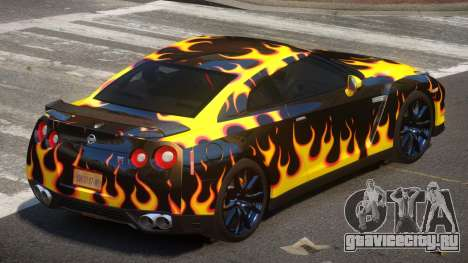 Nissan GT-R Qz PJ6 для GTA 4