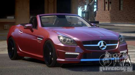 Mercedes Benz SLK RS для GTA 4