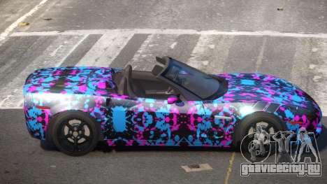 Chevrolet Corvette SR PJ4 для GTA 4