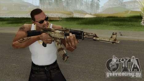 AK-47 (Camo Desert) для GTA San Andreas