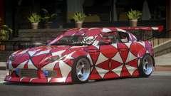 Mazda RX-8 V1.1 PJ2 для GTA 4
