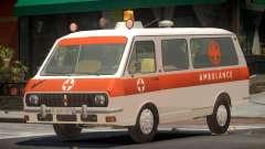 RAF 2203 Ambulance V1.0 для GTA 4